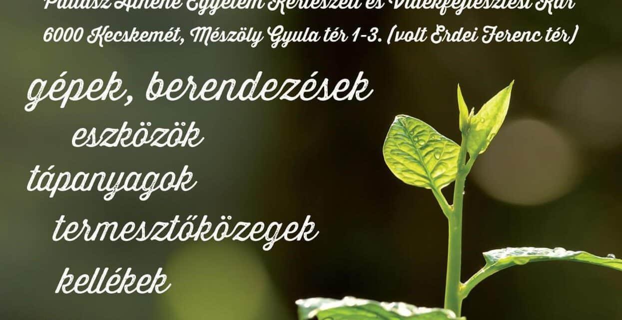 KERT-TECH Kertészeti Technika Kiállítás