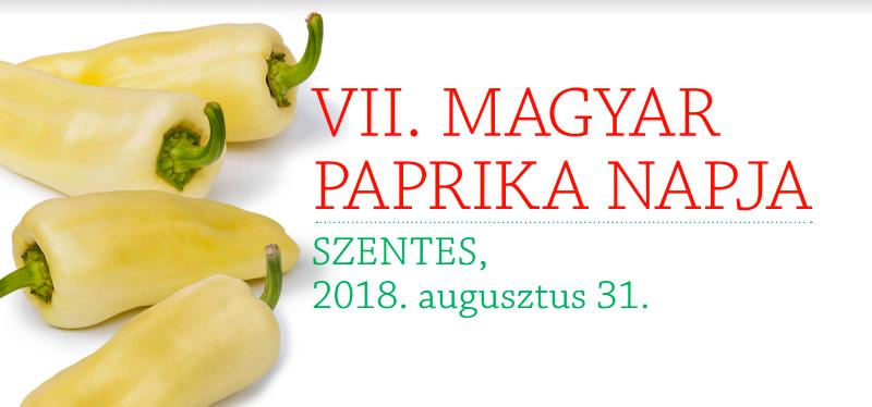Meghívó a VII. Magyar Paprika Napjára