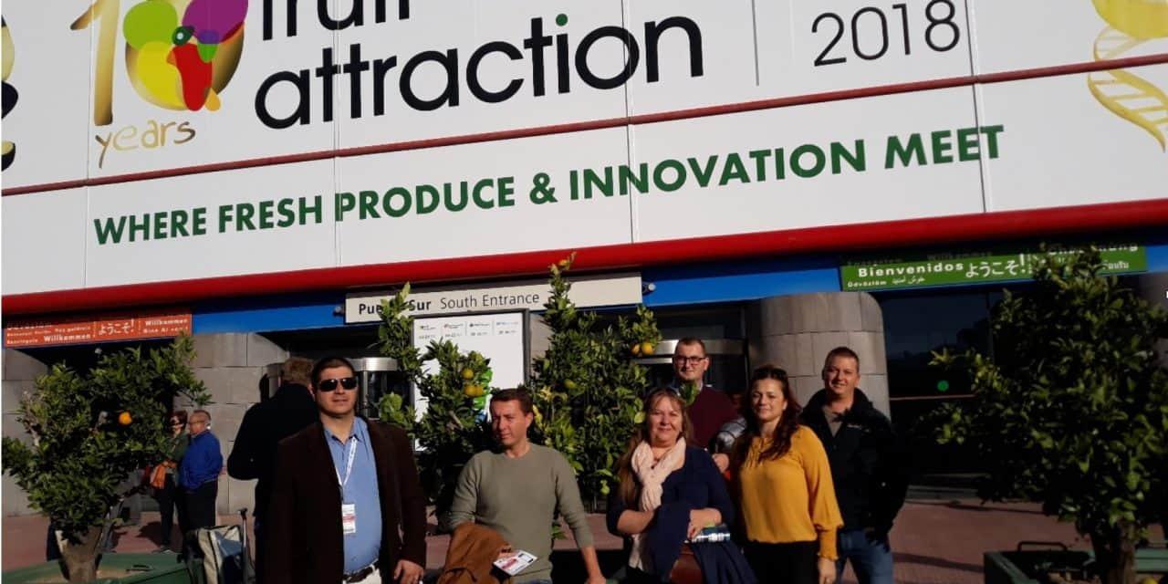 Beszámoló – 10. jubileumi Fruit Attraction kiállítás, Madrid 2018. október 23-25.