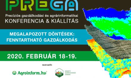 PREGA Konferencia Gyümölcs-, szőlő-, zöldségtermesztés tematika