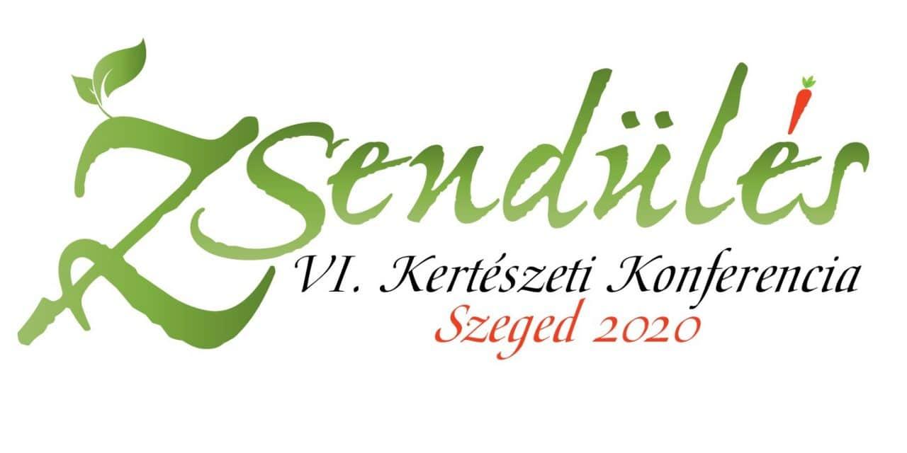 Meghívó a Zsendülés VI. Kertészeti Konferenciára